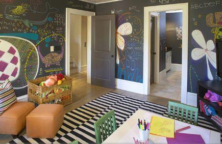 chalkboard rooms