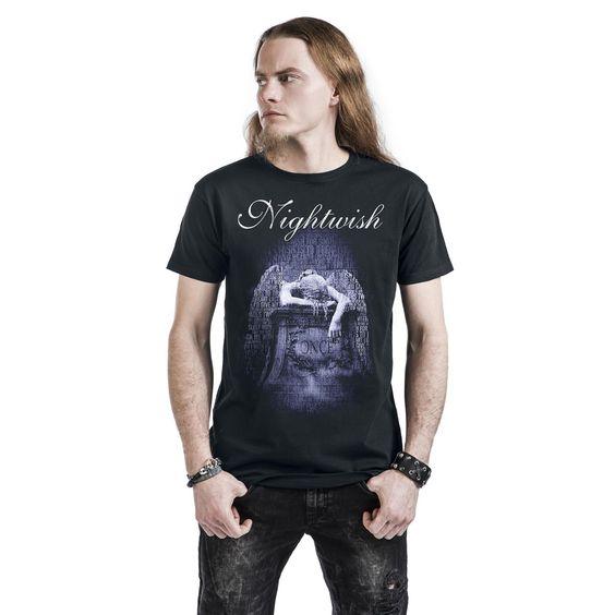 """Classica T-Shirt uomo nera """"Once"""" dei #Nightwish."""
