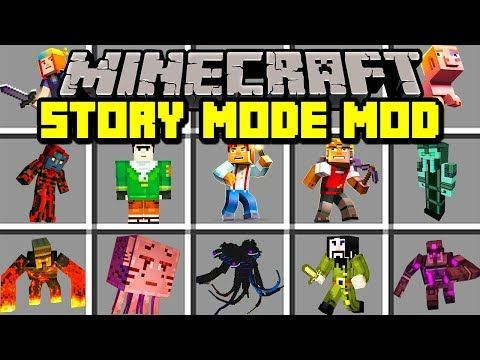 Minecraft Story Mode Season 3 Mod New Wither Storm Boss Characters More Modded Mini Game Youtube Mini Games Minecraft Mod