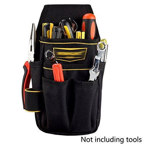 Reel Storage Tool Bag Utility Electrical Package Oxford 22 Pockets Pouch Holder