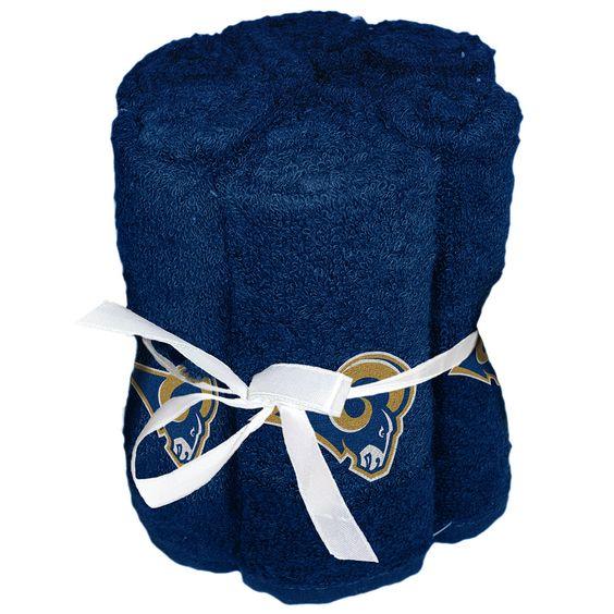 Los Angeles Rams Washcloths (6 Pack)