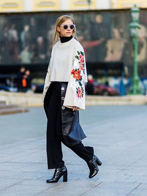 The 2018 Way to Layer Your Clothes via @WhoWhatWearUK