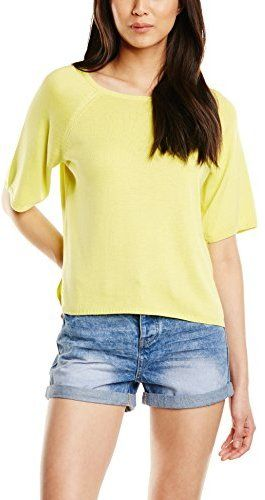 New Look Women's Knitted 1/2 Sleeve Top