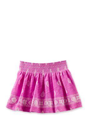 OshKosh Bgosh  Printed Elastic Waist Skirt Toddler Girls