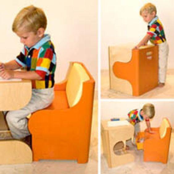 P'kolino Klick Desk Set