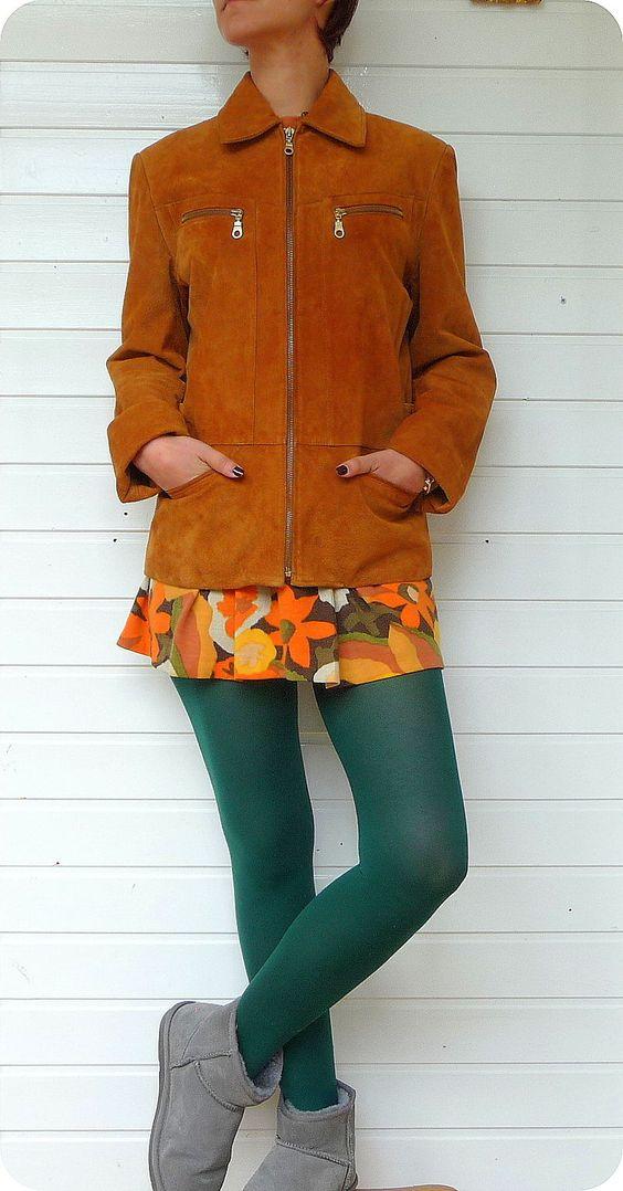 LEATHER SOUND Damen Echt Leder Jacke 38 Biker Hippie Boho Jacket Vintage Suede | eBay