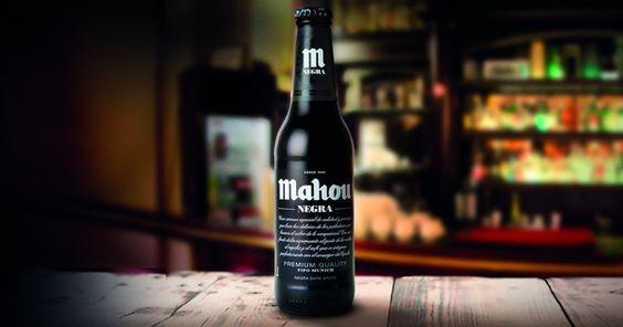 Bia Mahou Negra 5,5% - Chai 330ml