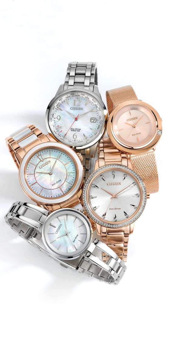 Watches From Citizen Eco Drive Are The Perfect Timepieces For The Everyday Wearer With Classic Lines And A Hin Citizen Eco Crystal Watches Eco Drive