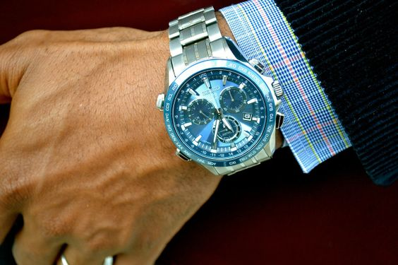 #AstronElite, Seiko Astron Elite Watch, Men's Style Pro, Navy blue corduroy suit