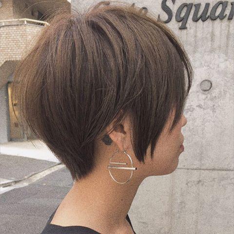 タトゥーかわい 本日のショートヘア 紺野ショート ヘアカタログ