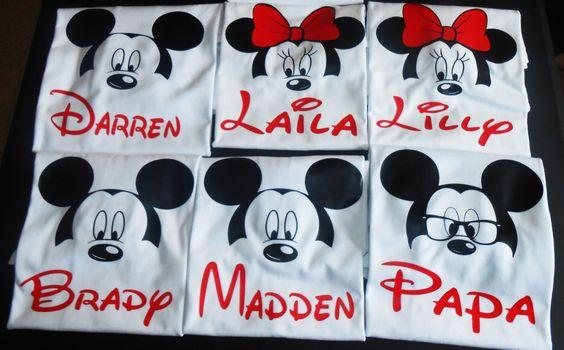 Disney Family shirt - Disney Mickey Minnie shirt -Disneyland shirt - Disney…