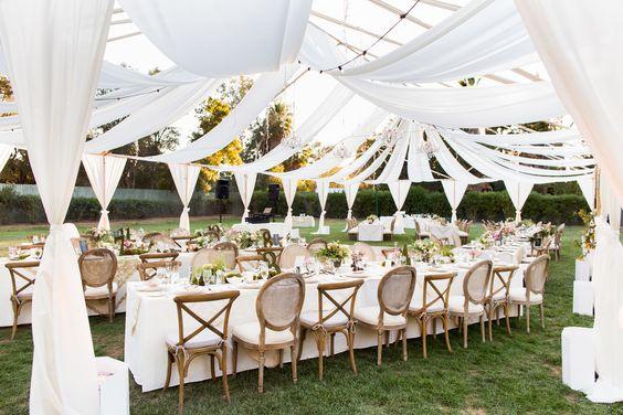 Top Garden Wedding Trends: Receptions, 2016 Wedding Trends And Enchanted Garden