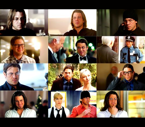 Christian Kane as Eliot Spencer in Leverage...in glasses! What? Glasses make him look smart as well as tough...
