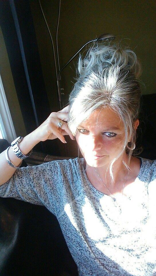 I love my gray hair