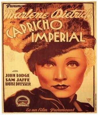 Marlene Dietrich... Capricho Imperial... Scarlet Empress: