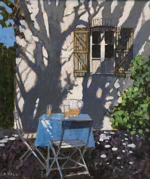 Mike Hall original 'Tree Shadows':