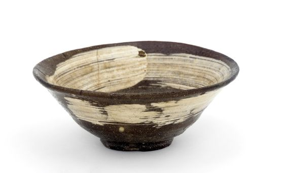 Japanese Art | Kyoto ware tea bowl | F1898.23: