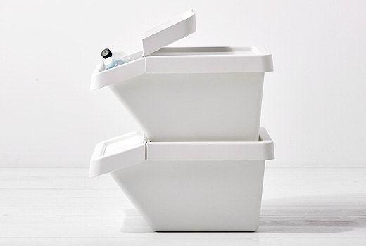 Trash Cans Storage Bags Ikea Sac Poubelle Panier A Linge