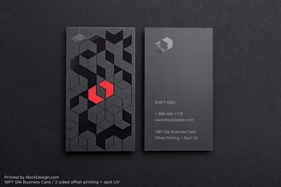 spot uv lettering design business cards pinterest business cards