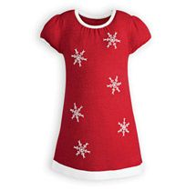 Snowflake Knit - Girls' Special Occasion Dresses, Boys' Special Occasion Outfits