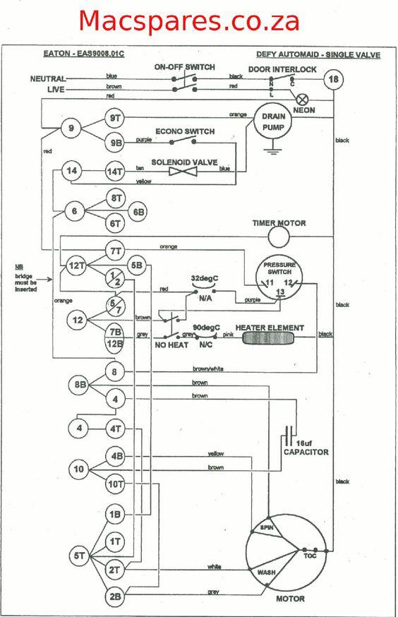 Wiring Diagram Of Washing Machine Bookingritzcarlton Info Washing Machine Motor Washing Machine Manual Washing Machine