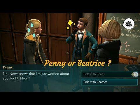 Side With Penny Harry Potter Hogwarts Mystery Youtube Hogwarts Mystery Harry Potter Hogwarts Hogwarts