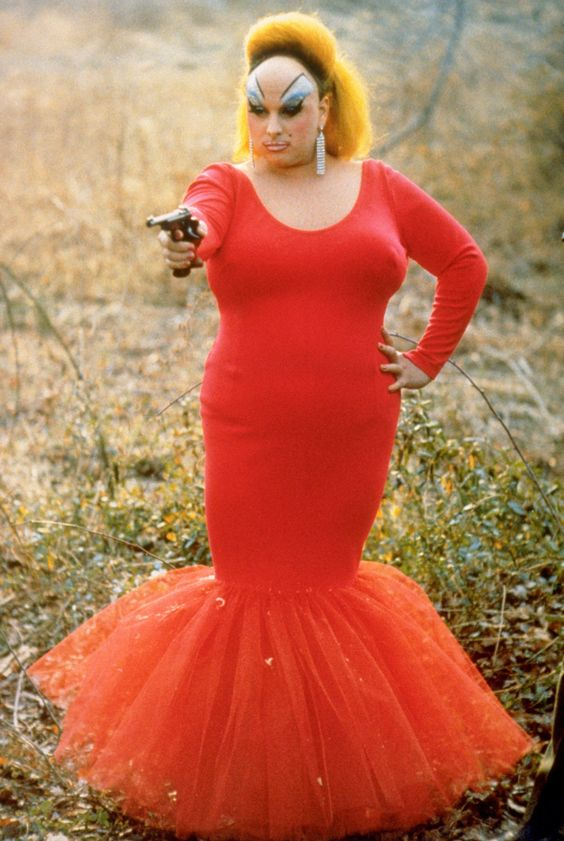Divine in John Waters' Pink Flamingos (1972)