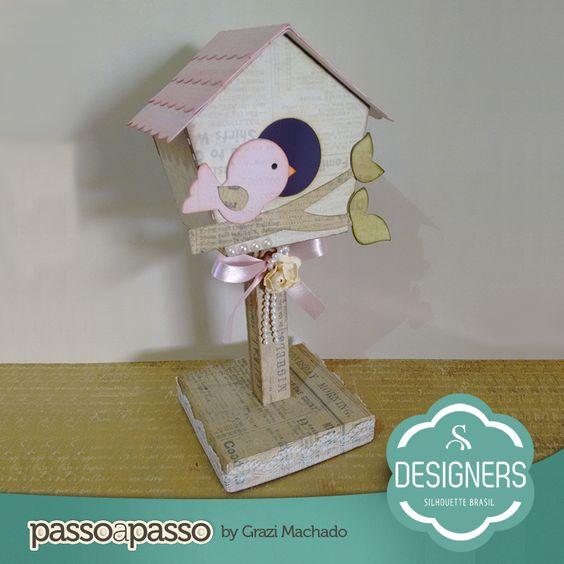 Casa de Passarinho   Silhouette Brasil - Blog