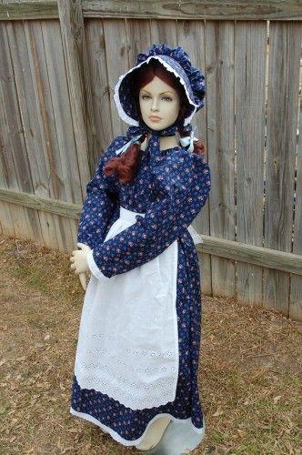 pioneer children&-39-s costumes - Girls Pioneer Prairie Dress Costume ...