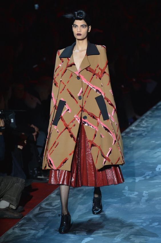 Pin for Later: Seht alle Trends der New York Fashion Week in weniger als fünf Minuten! Marc Jacobs
