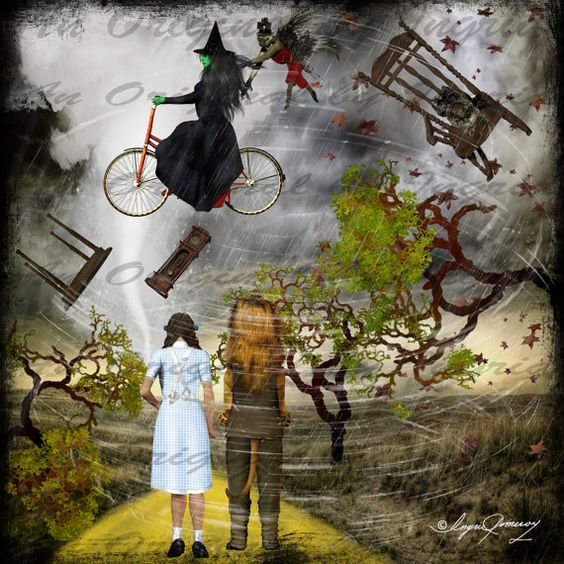 Odd Oz Digital Collage Greeting Card (Suitable for Framing ...