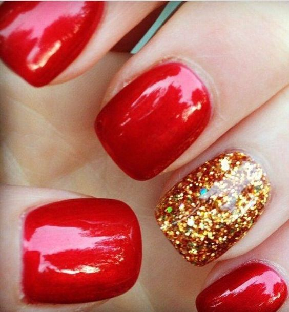 ONE GOLD SPARKLE: