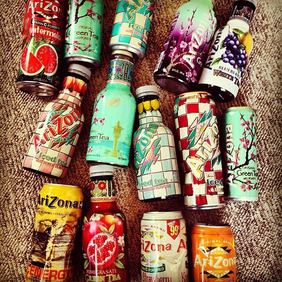Arizona bottles collection.