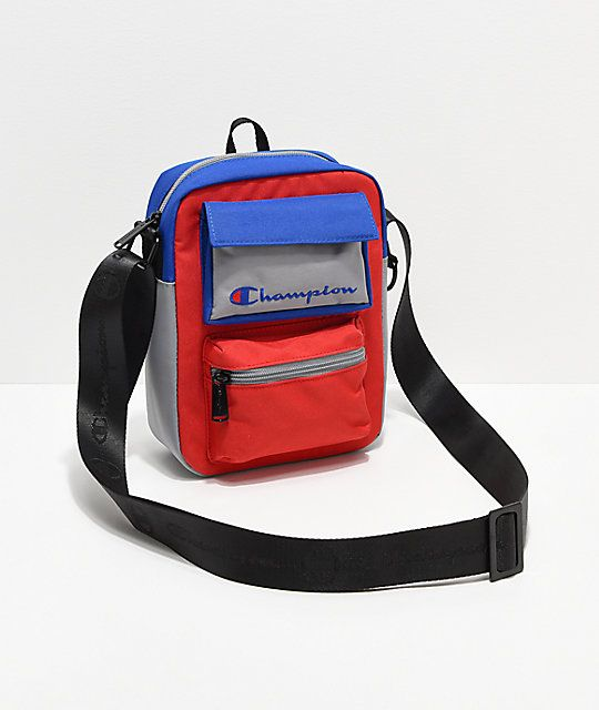 Champion Colorblock Blue Red Grey