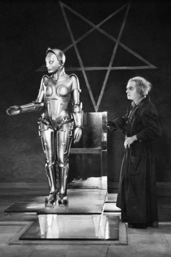 A máquina e seu criador, Rotwang.