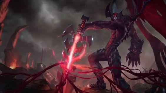 League of Legends - Aatrox Login Screen and Music
