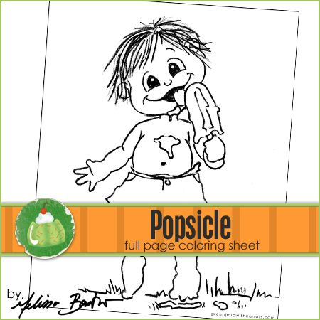 popsicle printable coloring page coloring pages free downloads pinterest coloring pages