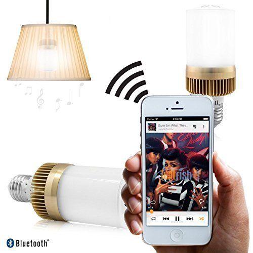 Twitfish® - Bulb-Lautsprecher Bluetooth - Schalten Sie das Licht und hören Sie Ihre Musik, http://www.amazon.de/dp/B00QYZZFBE/ref=cm_sw_r_pi_awdl_kaP.ub13FCVX9