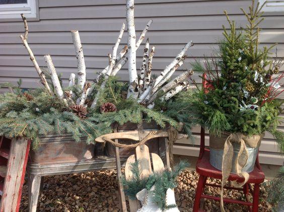 outdoor winter decorations winter pinterest winter