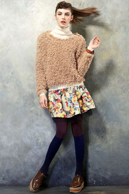 Loose Fit Pure Color Sweater $48.75
