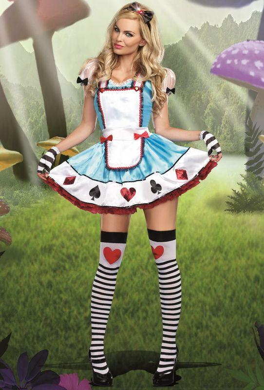 Alice in wonderland halloween costume women-6687
