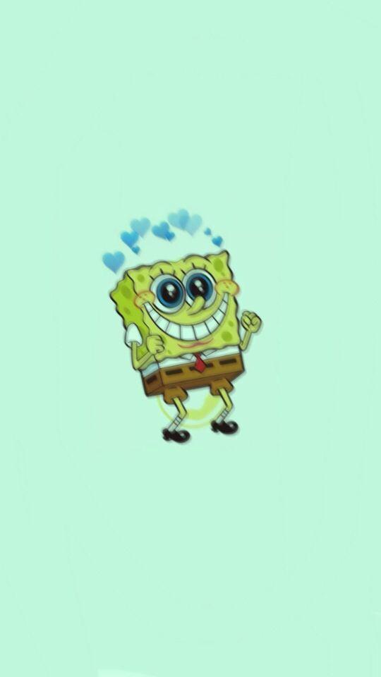 Spongebob Blue Aesthetic Spongebobwallpaper Lockscreen Homescreen Spongebob Drawings Spongebob Wallpaper Spongebob Iphone Wallpaper