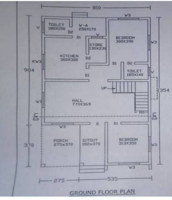 4 Bedroom Home For 35 Lakhs With 2165sqft For 5 Cent Plot With Free Plan With Images Budget House Plans Indian House Plans House Plans With Pictures