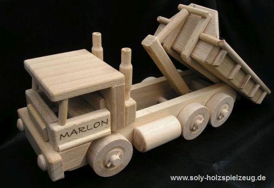 Spielzeug Lkv Kipper mit Gravur