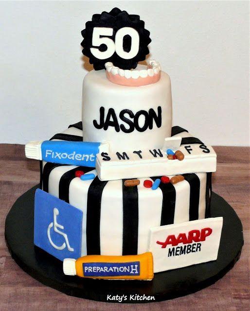 Fun 50th Birthday Cake Cake Birthday Cake Custom Cakes