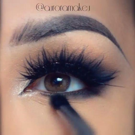 Gorgeous  @auroramakeup @shophudabeauty lashes in Scarlett launching October 13 sephora.com