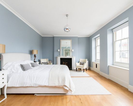 bedroom design transitional duck egg blue bedroom ideas with white modern double bed also traditional windows design and light brown lamina