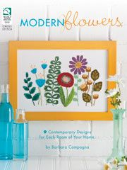 This is my first book. A book of retro-inspired floral patterns to use throughout your home.