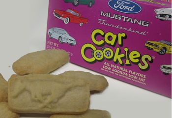 Ford car cookies