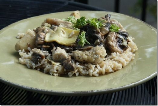 Chicken and Artichokes in a White Wine Sauce | Chicken | Pinterest ...